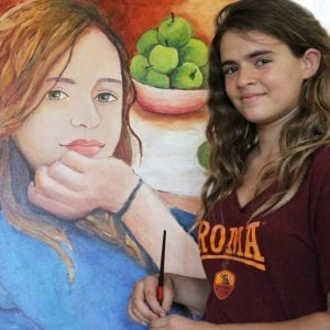 Young Students Paintings