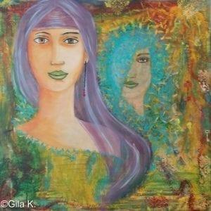 Painting: Gila